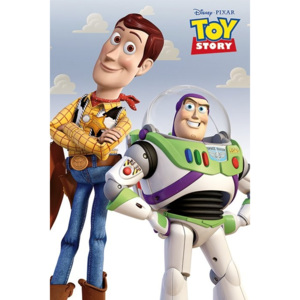 Toy Story - Woody & Buzz Plakát, (61 x 91,5 cm)