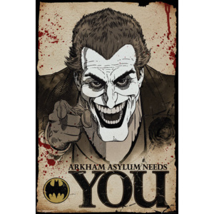 Batman Comic - Joker Needs You Plakát, (61 x 91,5 cm)