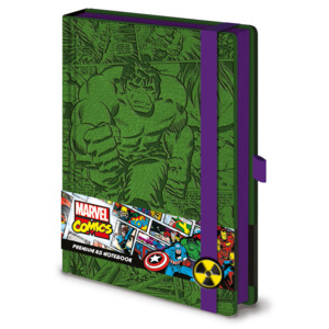 Marvel - Incredible Hulk A5 Premium Jegyzetfüzet