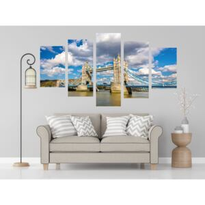 Tower Bridge-London Öt Részes 70*30Cm,90*30Cm