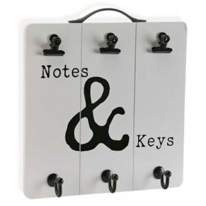 Kulcstartó notes & keys