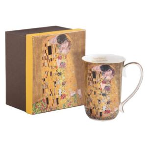 Klimt porcelán bögre - 400 ml - The Kiss