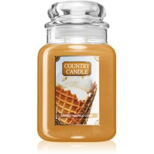 Country Candle Salted Waffle Cone illatos gyertya 680 g
