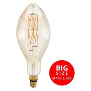 Eglo 11685 Big Size 8W E27 806lm 2100K filament LED 330xD140mm