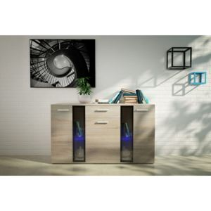 MEBLINE Chest of Drawers SIGMA sonoma
