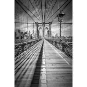 Exkluzív Művész Fotók NEW YORK CITY Brooklyn Bridge, Melanie Viola