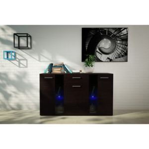 MEBLINE Chest of Drawers FIESTA wenge