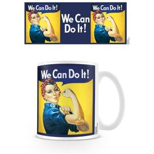 We Can Do It! - Rosie The Riveter bögre