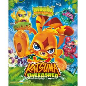 Moshi monsters - Katsuma Unleashed Plakát, (40 x 50 cm)