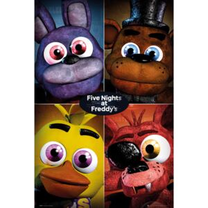 Five Nights At Freddy's - Quad Plakát, (61 x 91,5 cm)