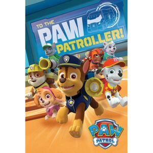 A mancs őrjárat - To The Paw Patroller Plakát, (61 x 91,5 cm)