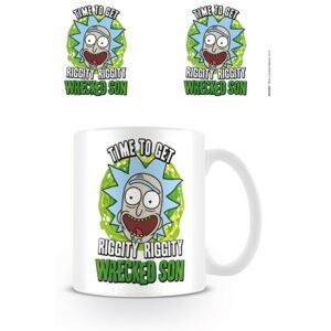 Rick and Morty - Wrecked Son bögre