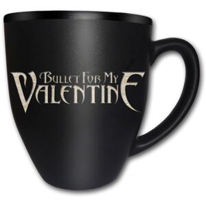 Bullet For My Valentine – Logo Matt Engraved bögre