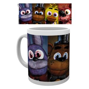 FIVE NIGHTS AT FREDDY'S - Faces bögre