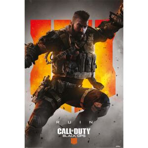 Plakát Call Of Duty – Black Ops 4 Ruin, (61 x 91,5 cm)