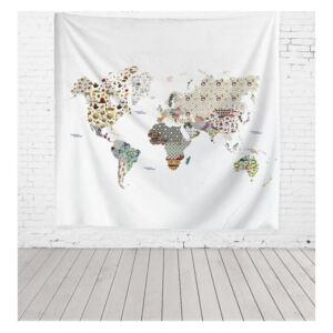 Patchworld mikroszálas faliszőnyeg, 140 x 140 cm - Really Nice Things