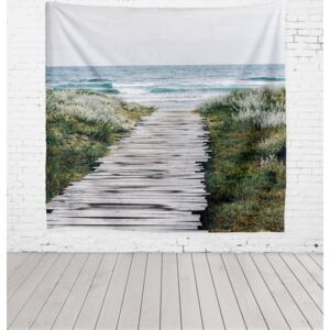 Beach Way mikroszálas faliszőnyeg, 140 x 140 cm - Really Nice Things