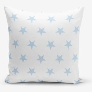 Light Blue Star pamutkeverék párnahuzat, 45 x 45 cm - Minimalist Cushion Covers