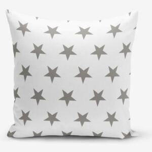Grey Star pamutkeverék párnahuzat, 45 x 45 cm - Minimalist Cushion Covers