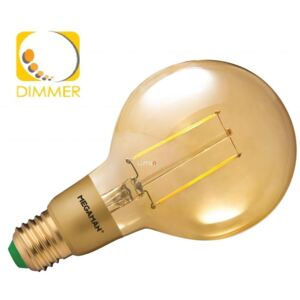 Megaman MM05339 3W E27 Dim Filament Led Clear Gold Globe
