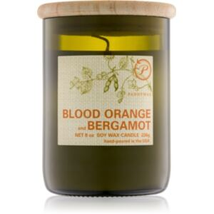 Paddywax Eco Green Blood Orange & Bergamot illatos gyertya 226 g