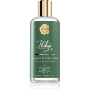 Ashleigh & Burwood London The Heritage Collection Bergamot & Golden Oud aroma diffúzor töltelék 300 ml