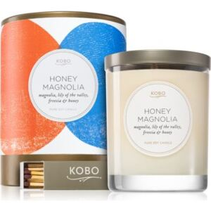 KOBO Natural Math Honey Magnolia illatos gyertya 312 g