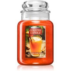 Country Candle Buttered Rum Toddy illatos gyertya 680 g