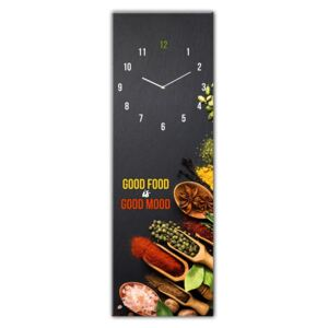 Good Food üveg falióra, 20 x 60 cm - Styler