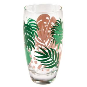 Palm Leaf üvegpohár, 350 ml - Rex London