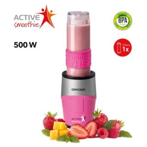 Concept SM3383 Smoothie maker Active Smoothie 500 W rózsaszín 1 x 570 ml