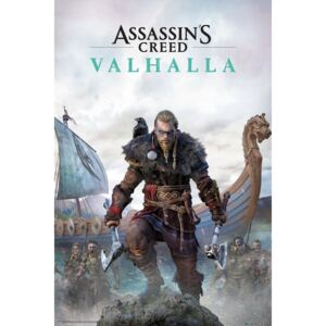 Plakát Assassin's Creed: Valhalla - Standard Edition, (61 x 91,5 cm)