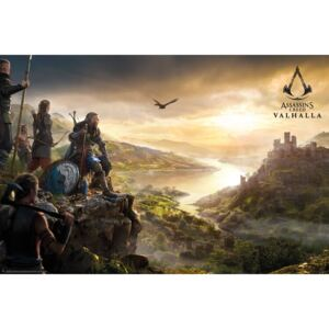 Plakát Assassin's Creed: Valhalla - Vista, (91 x 61,5 cm)