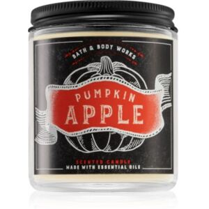 Bath & Body Works Pumpkin Apple illatos gyertya 198 g