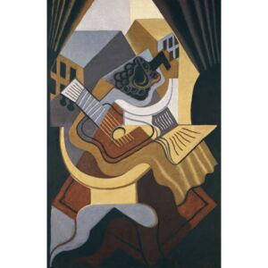 Gris, Juan - Table in front of a window, 1921 Festmény reprodukció
