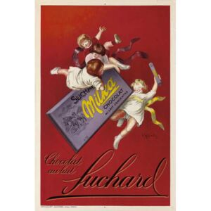 Cappiello, Leonetto - Advertising poster for Milka chocolates by Suchard, 1925 Festmény reprodukció