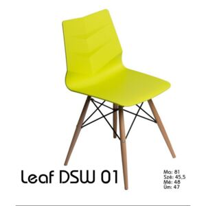 Leaf DSW szék lime