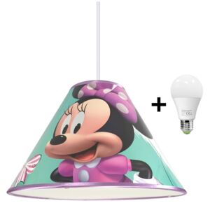 Hermanex LED Csillár zsinóron MINNIE MOUSE 1xE27/15W/230V LEDP3593