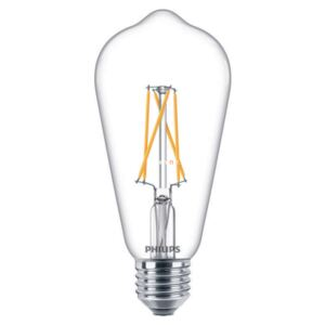 Philips LED Filament DimTone 8,5W 827 E27 WW ST64 CL 2200-2700K LED DIM
