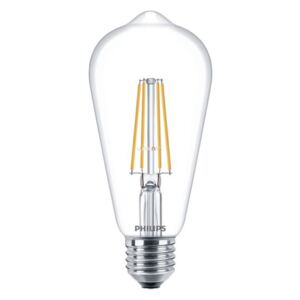 Philips LED Filament 7W 827 E27 WW ST64 CL 2700K LED