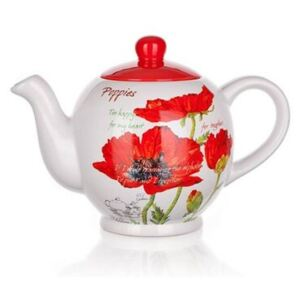 Banquet Red Poppy teáskanna, 1200 ml