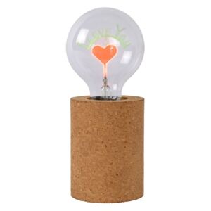 Lucide Lucide 03517/03/43 - LED Asztali lámpa CORKY - I LOVE YOU 1xE27/3W/230V LC2566