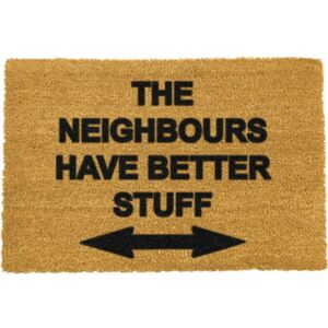 Neighbours Have Better Stuff lábtörlő, 40 x 60 cm - Artsy Doormats