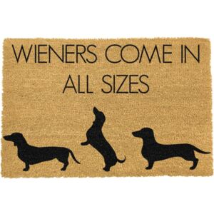 Weiners Come In All Sizes lábtörlő, 40 x 60 cm - Artsy Doormats