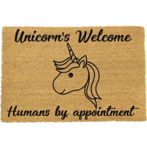 Unicorns Welcome lábtörlő, 40 x 60 cm - Artsy Doormats