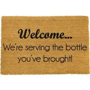 Bottle You've Brought lábtörlő, 40 x 60 cm - Artsy Doormats