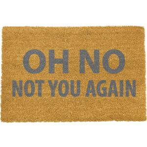 Not You Again Grey lábtörlő, 40 x 60 cm - Artsy Doormats