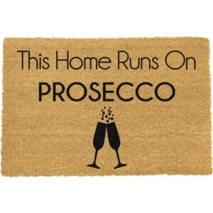 This Home Runs On Prosecco lábtörlő, 40 x 60 cm - Artsy Doormats