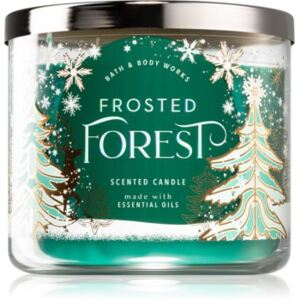 Bath & Body Works Frosted Forest illatos gyertya 411 g