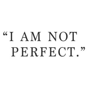 I am not perfect, (85 x 128 cm)